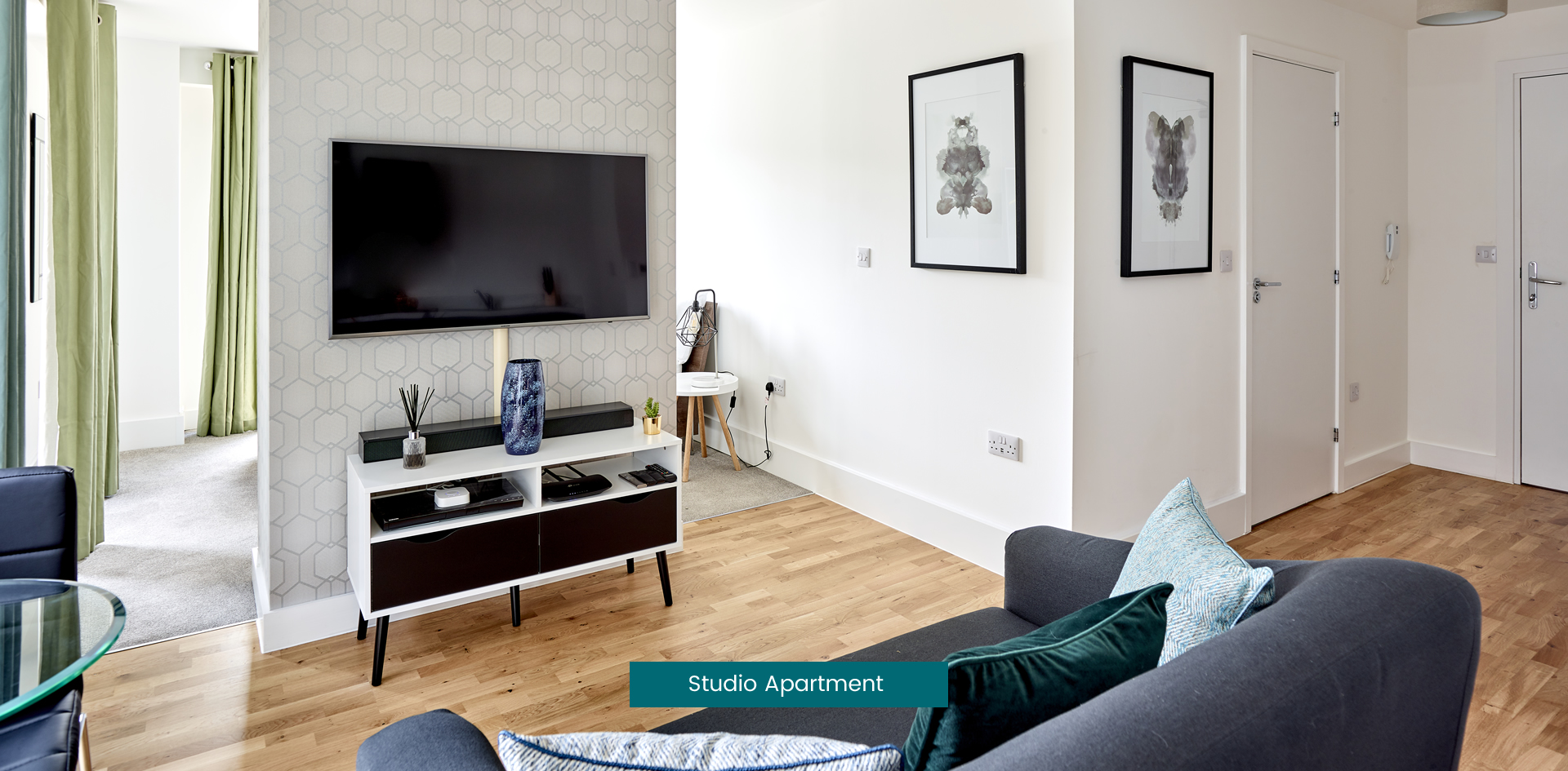 Studio Apartment, Park Place, Stevenage